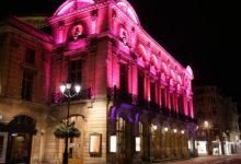 Reims stad kvällstid
