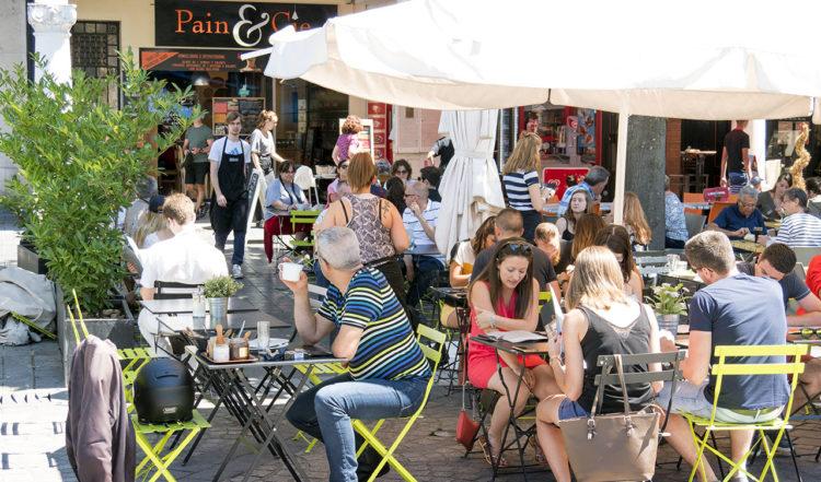 Pain et Cie i Reims, Frankrike
