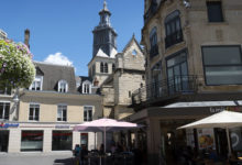 Vackra stråk i centrala Reims