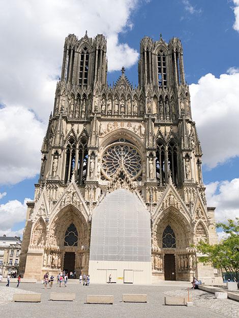 Notre Dame katedral i Reims, Frankrike