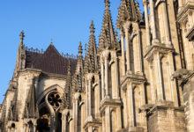 Notre Dame katedral i centrala Reims