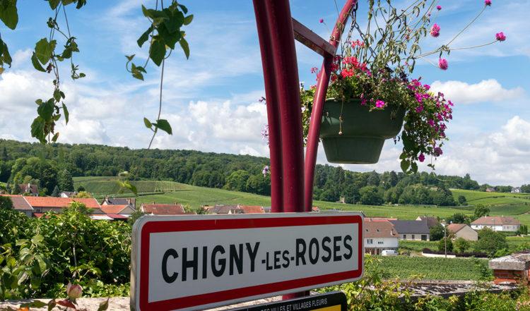 Chigny-les-Roses i Champagne i Frankrike