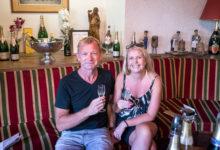 Champagneprovning på Tribaut Schloesser i Romery, Frankrike