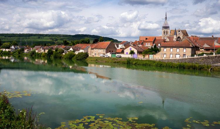 Damery i Grand Este i Champagne regionen i Frankrike