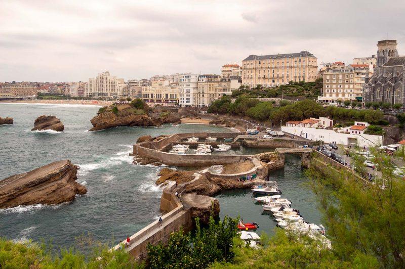 Biarritz från Bouche ouverte sur la mer