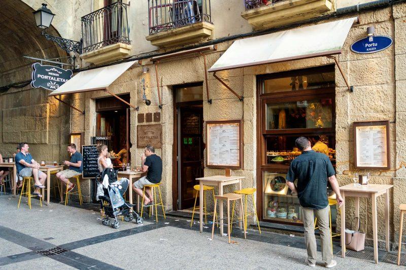 Meson Portaletas, Donostia-San Sebastian