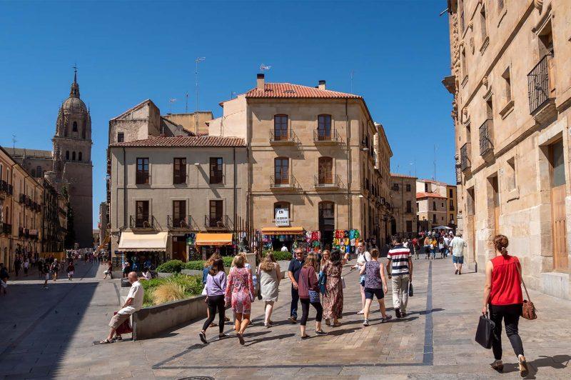 Rua Antigua in Salamanca, Spain
