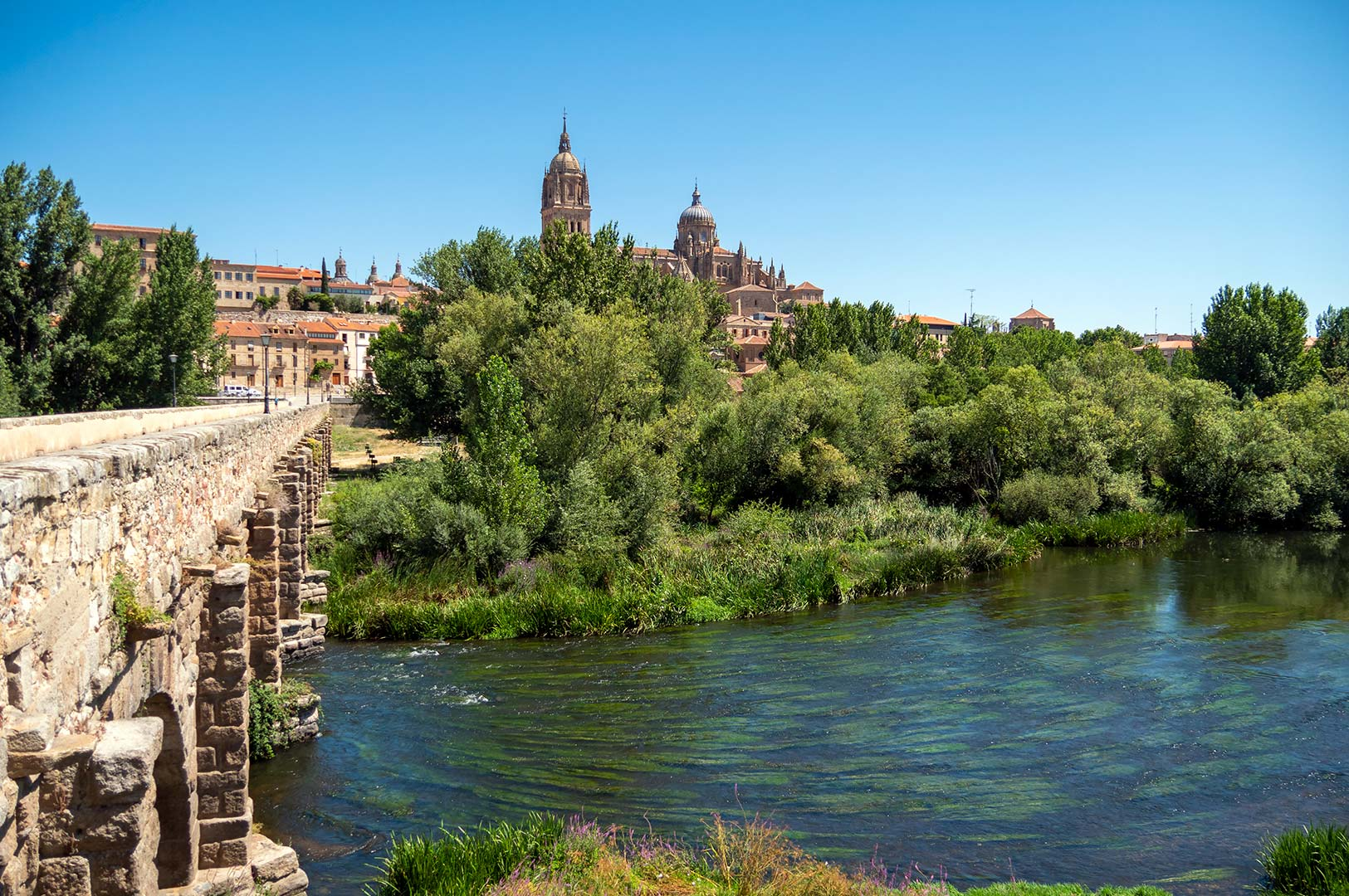 Salamanca from Puente Romano