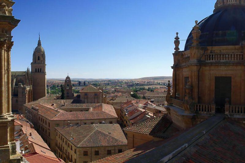 Grand View from Torre de La Clerecia, Salamanca
