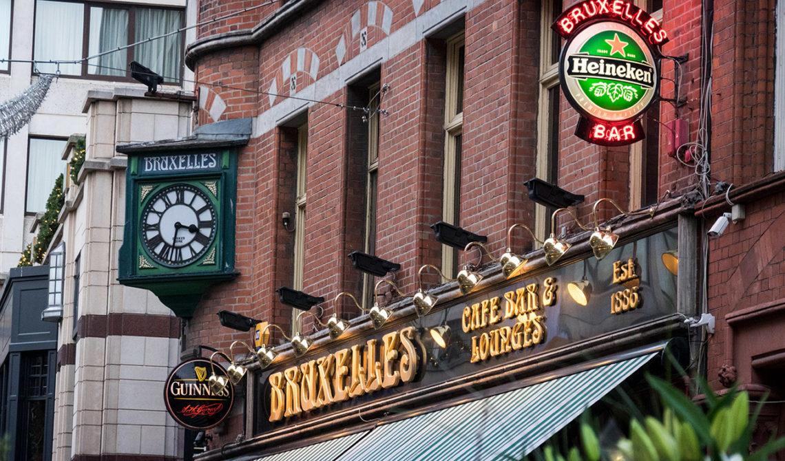 Bruxelles cosmopolitan bar i Dublin