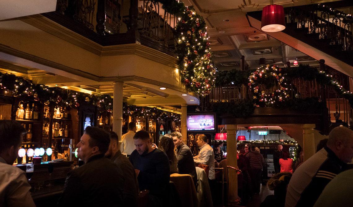 The Mercantile Bar & Grill i Dublin