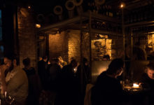 Charmig och mysig miljö inne på spanska tapas restaurangen The Port House Pintxo i Dublin