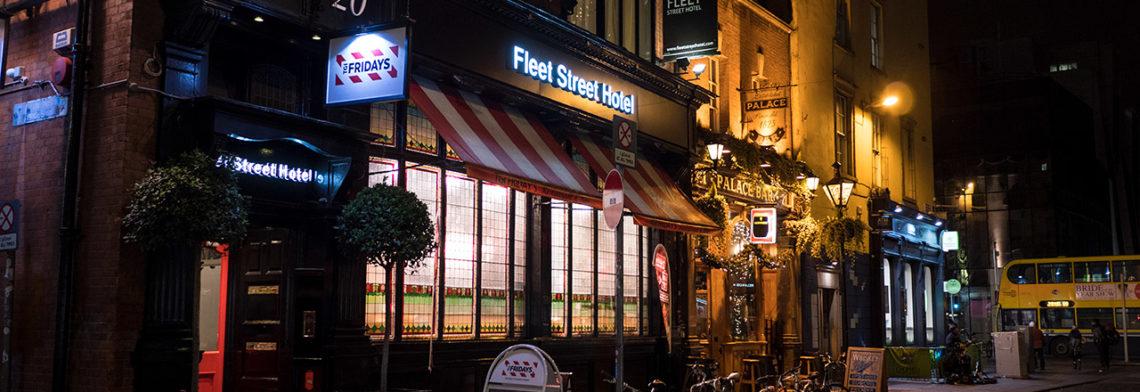 The Fleet Street Hotel i Dublin