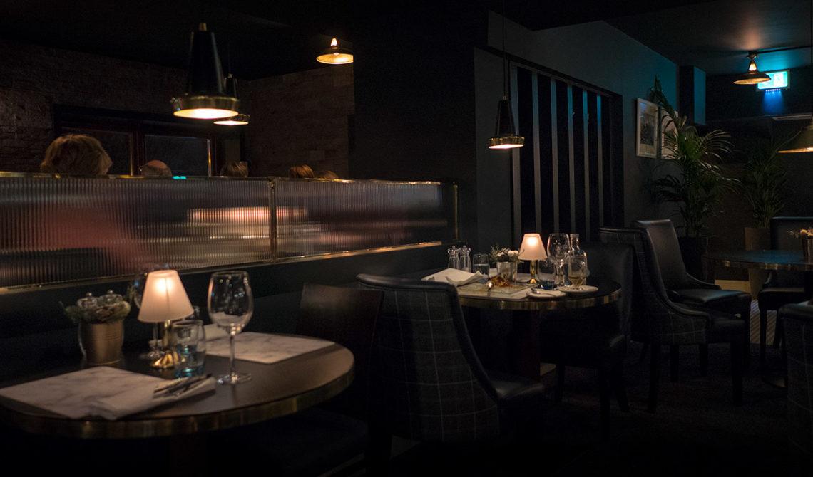 Mapas Restaurang på Fitzpatrick Castle Hotel, i Killiney, Irland