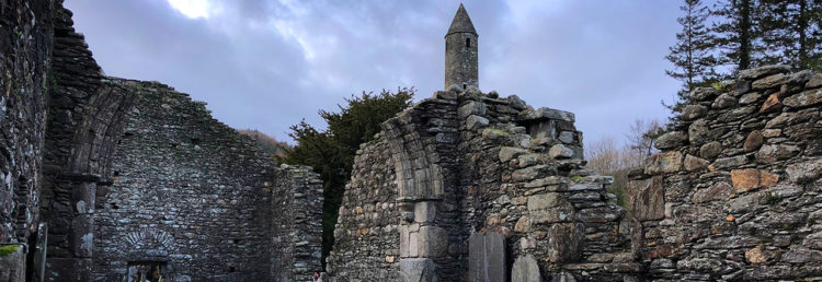 Top - Cathedral Glendalough Monastic City, Irelands Ancient East