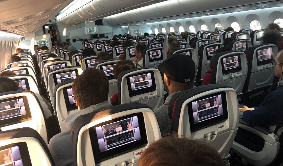 Air Canada interior