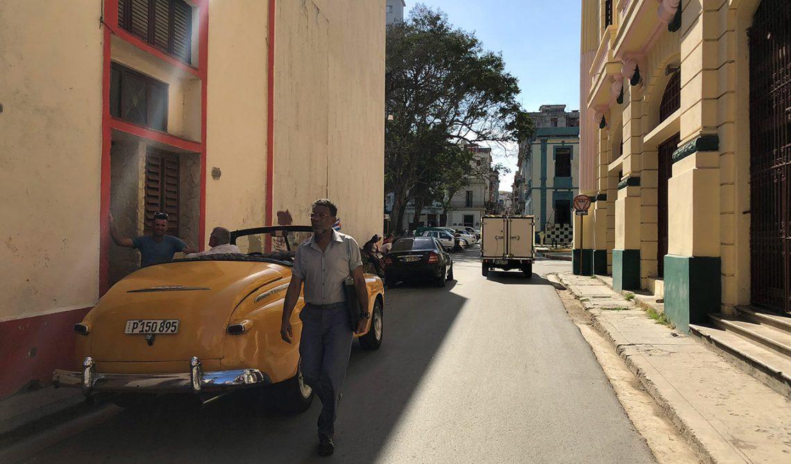 En gränd i centrala Havanna, Kuba