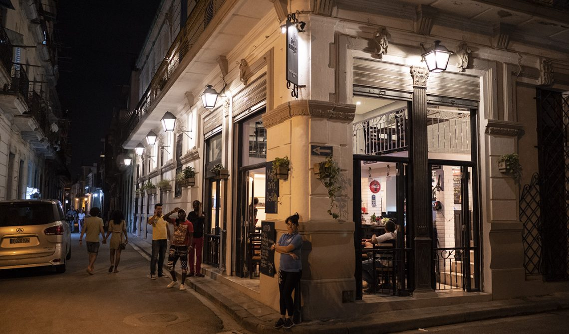 Restaurang del Angel i Havanna