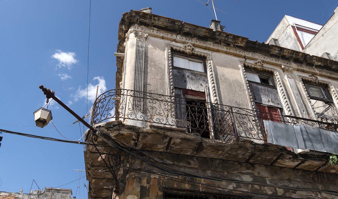 Hus i Havannas gamla stadsdelar