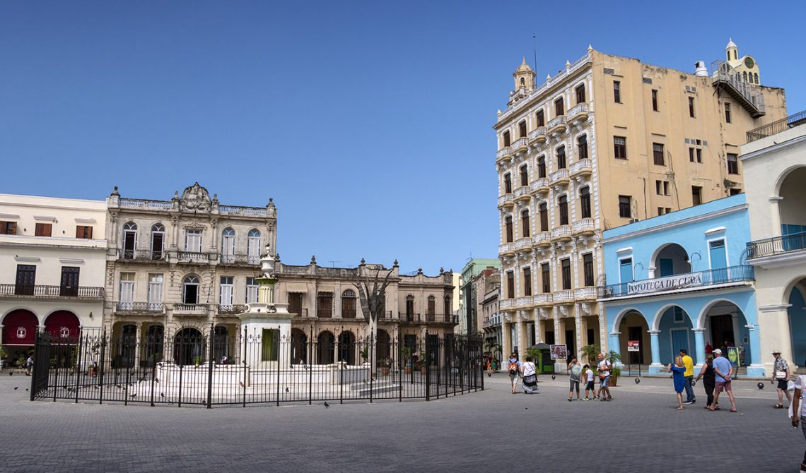 Torg i Havanna