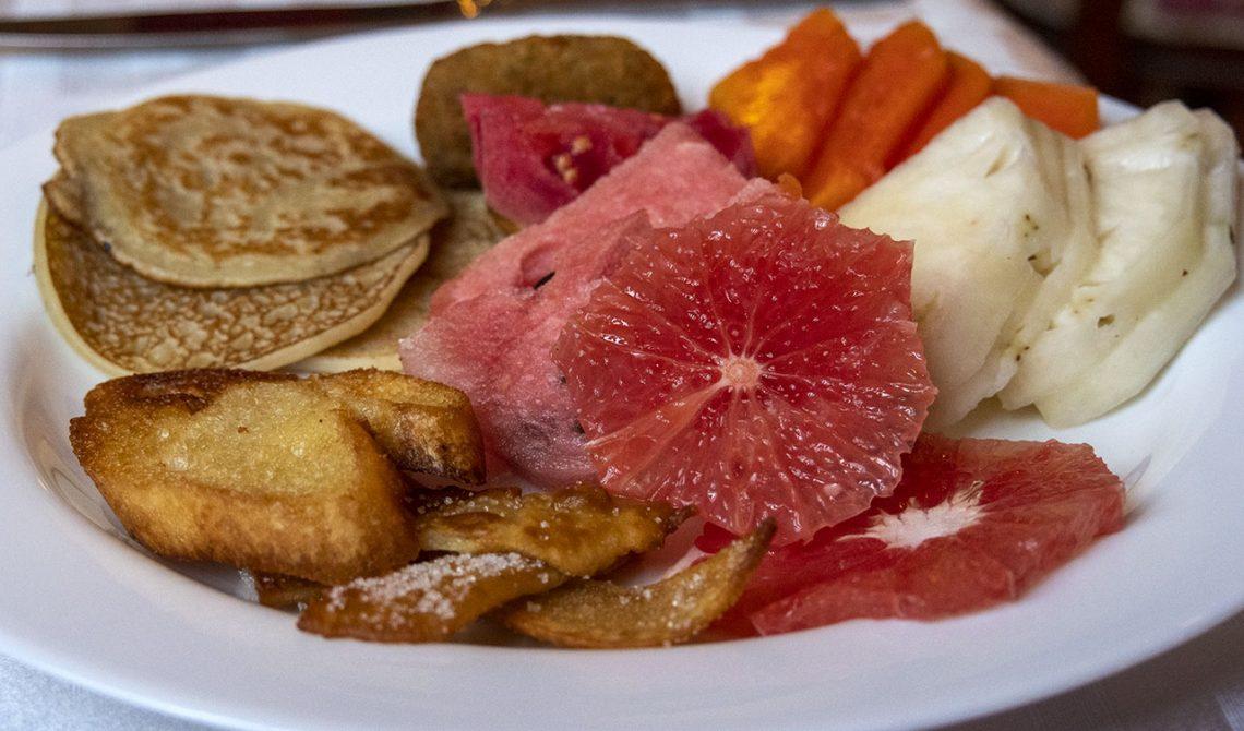 Frukost på Hotel Florida i Havanna
