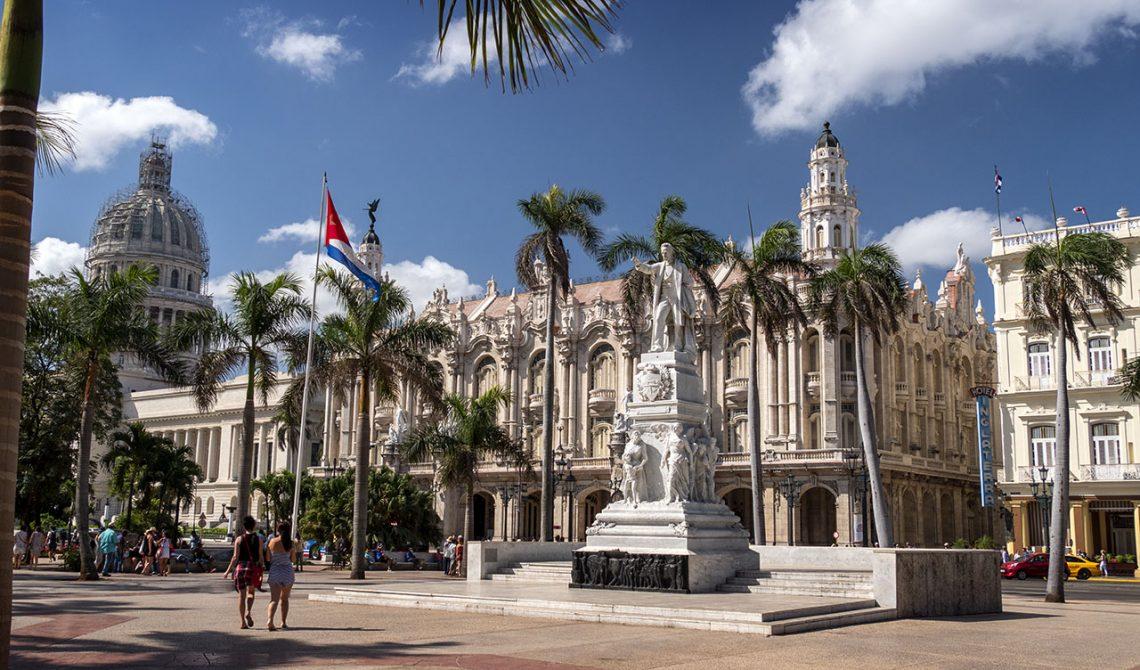 Parque Central i centrala Havanna