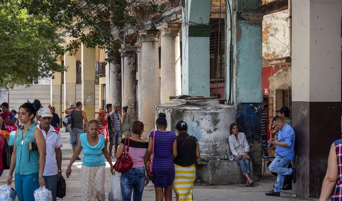 Vardagsliv i centrala Havanna