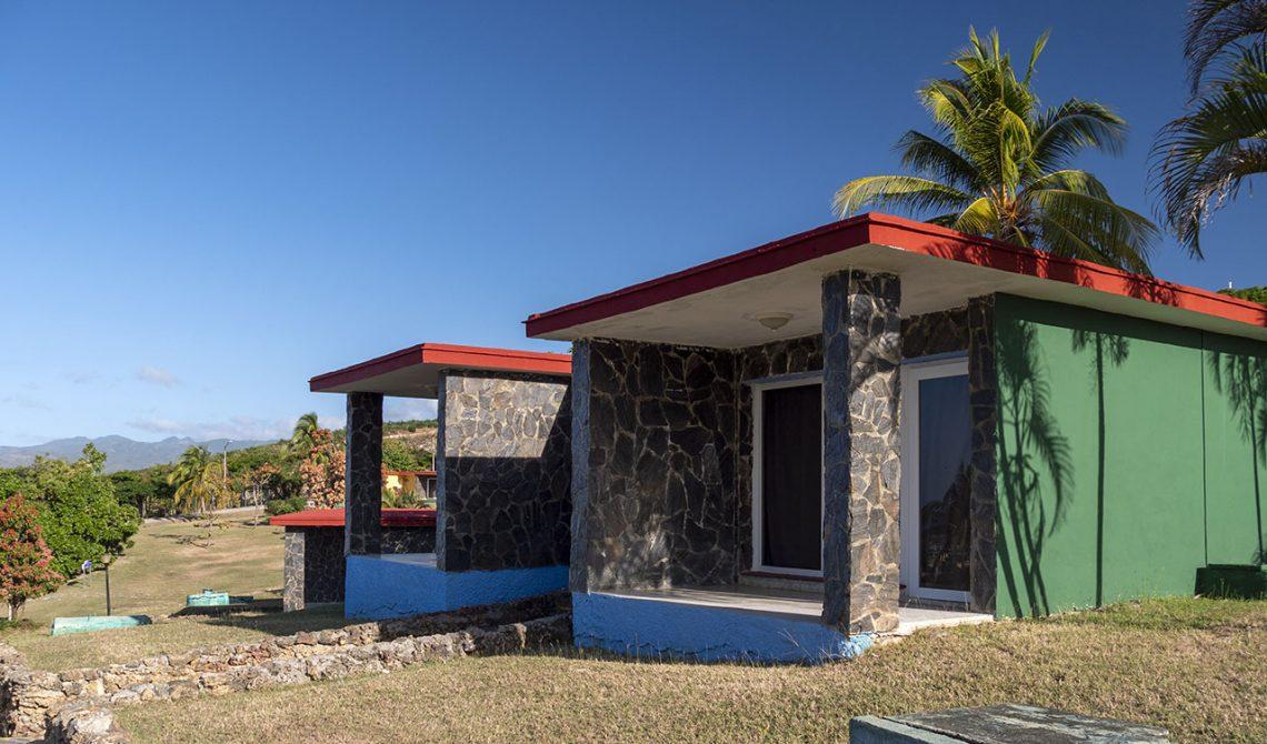 Our room at Hotel Las Cuevas, in Trinidad Cuba