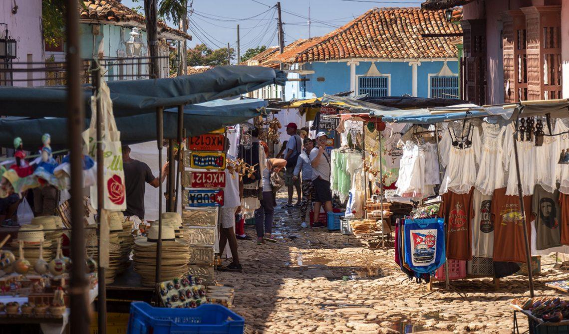 Market in Trinidad, Cuba