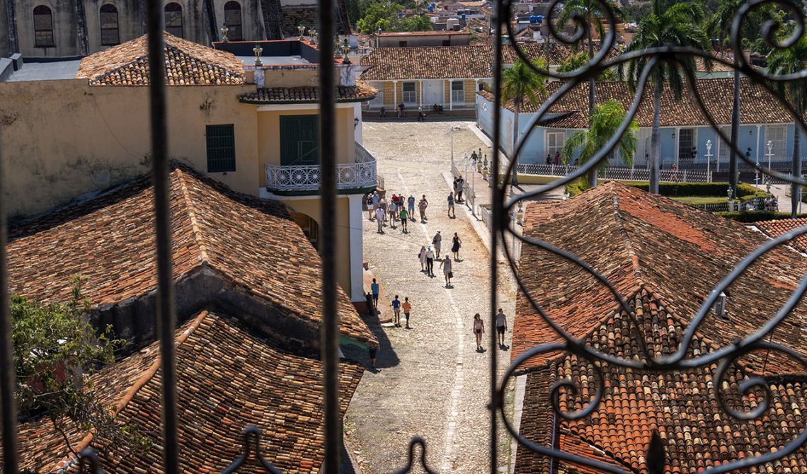 From the church tower in Trinidad, Cuba