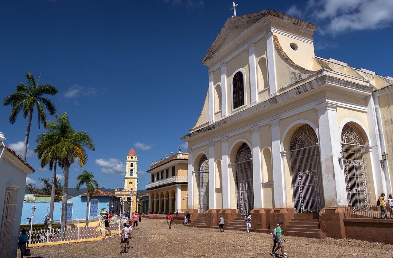 Dag i vackra UNESCO staden Trinidad på Kuba
