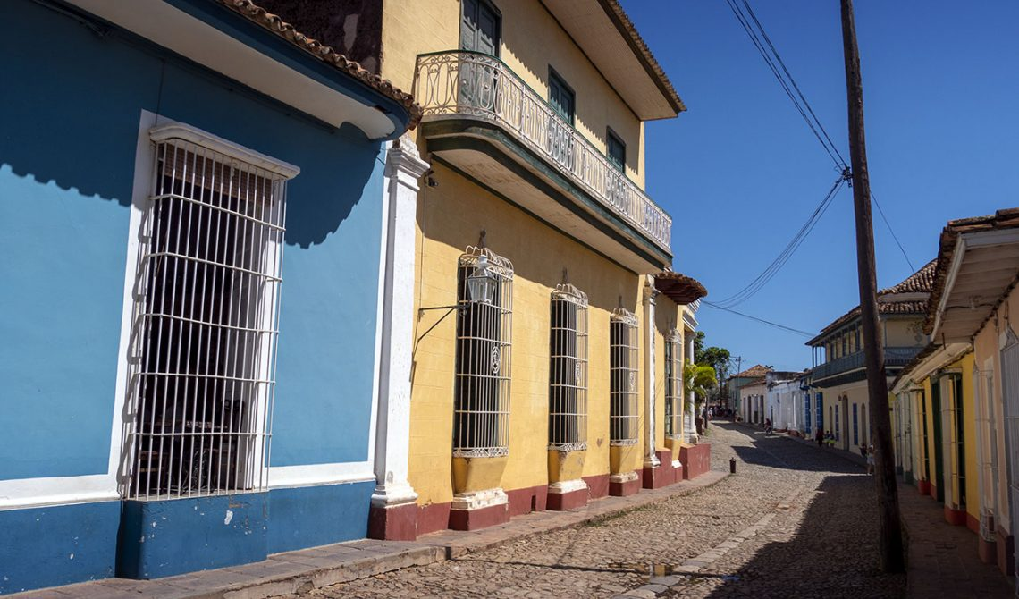 Walking in Trinidad, Cuba