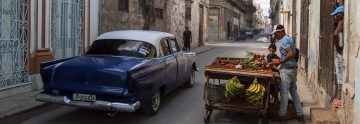 Topbild - gamla stan i Havanna, Kuba