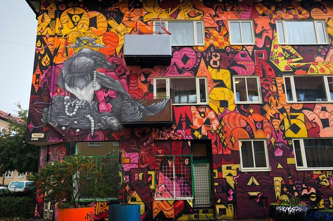 Streetart, Rasmusgatan, Seved  Malmö