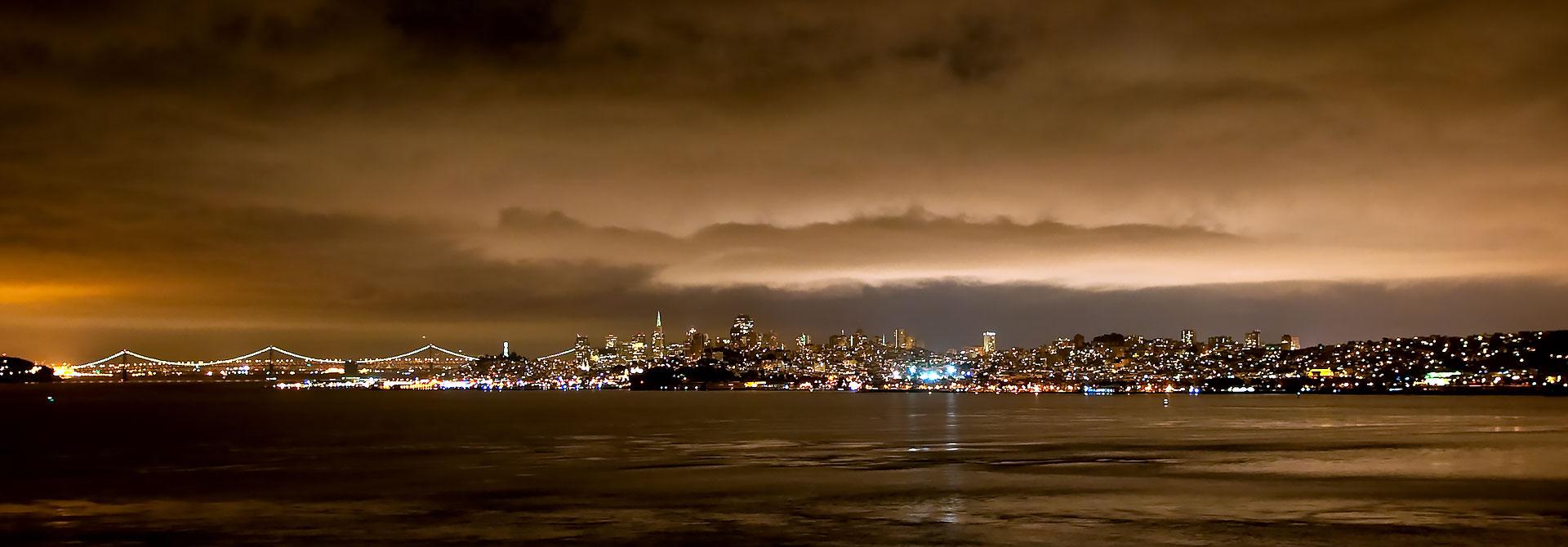 San Francisco California skyline